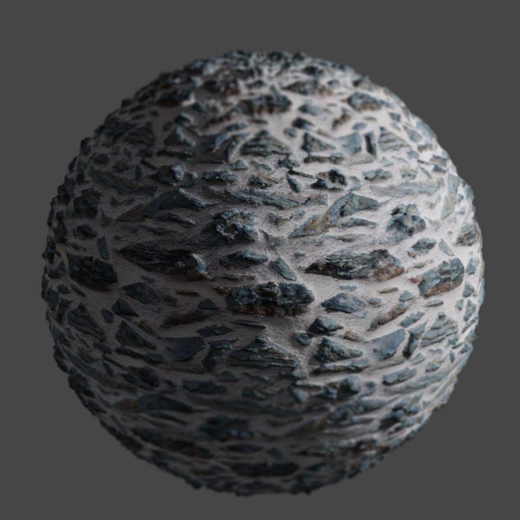 Stone and Lime Mortar